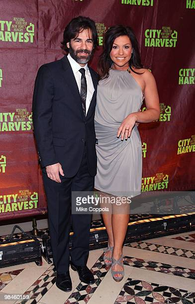 Television personality and celebrity chef Rachael Ray and husband John M Cusimano attend City Harvest's 16th Annual An Evening Of Practical Magic at...