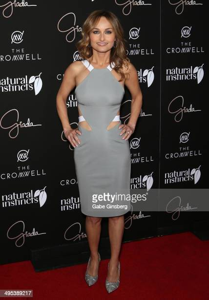 Television personality and chef Giada De Laurentiis arrives at the grand opening of her restaurant Giada at The Cromwell on June 2 2014 in Las Vegas...