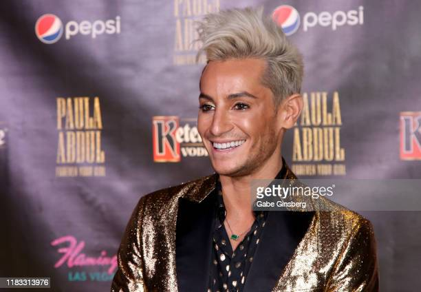 """Television personality and dancer Frankie Grande attends the official opening for the """"Paula Abdul: Forever Your Girl"""" Flamingo Las Vegas residency..."""