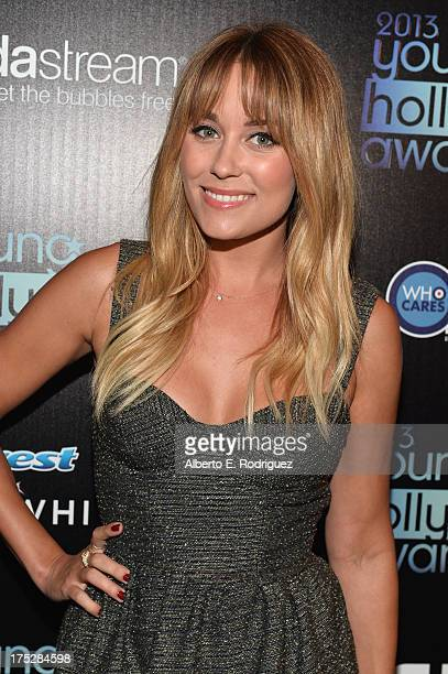 Television personality and fashion designer Lauren Conrad attends the CW Network's 2013 Young Hollywood Awards presented by Crest 3D White and...