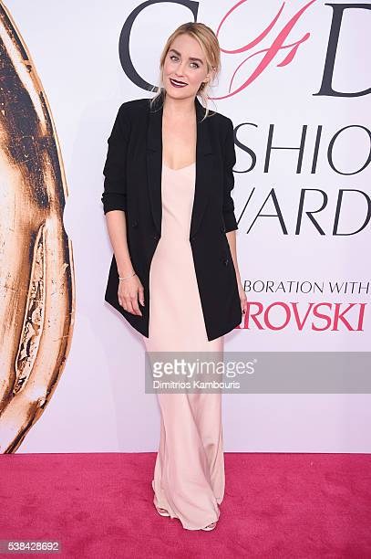 Television personality and fashion designer Lauren Conrad attends the 2016 CFDA Fashion Awards at the Hammerstein Ballroom on June 6, 2016 in New...