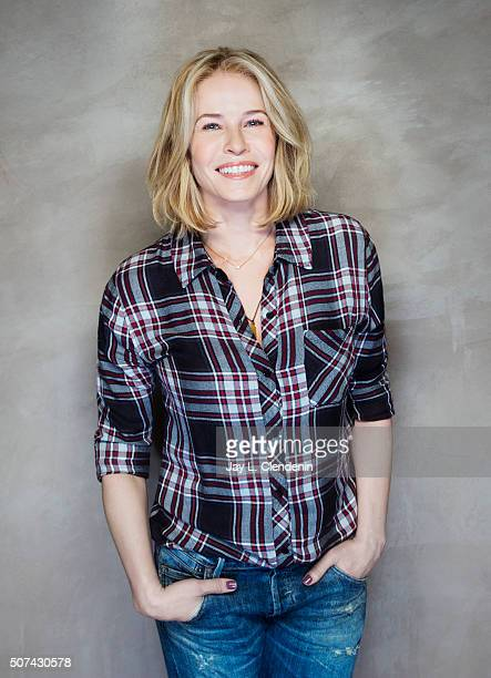 Television personality and host Chelsea Handler are photographed for Los Angeles Times on January 7 2016 in Los Angeles California Published Image...