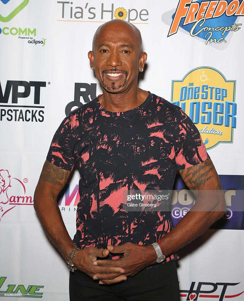 Television personality and host Montel Williams attends the Raising the Stakes Celebrity Charity Poker Tournament benefiting the One Step Closer Foundation at Planet Hollywood Resort & Casino on June 17, 2016 in Las Vegas, Nevada.