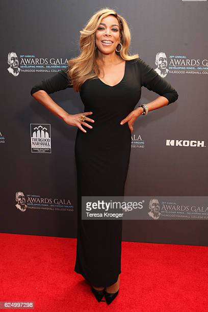 Television personality and host Wendy Williams attends the Thurgood Marshall College Fund 28th Annual Awards Gala at Washington Hilton on November 21...