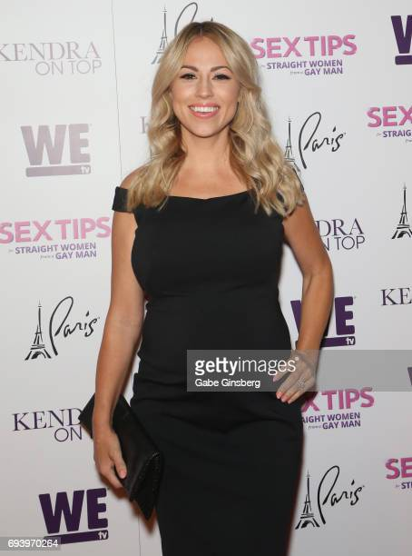 Television personality and model Jessica Hall attends the premiere of 'Sex Tips for Straight Women from a Gay Man' at the Paris Las Vegas on June 7...