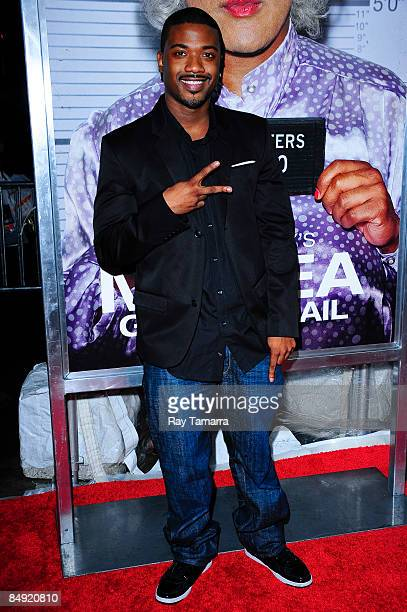 Television personality and singer Ray J attends a screening of Tyler Perry's Madea Goes to Jail at the AMC Loews Lincoln Center on February 18 2009...