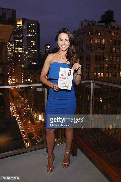 Television personality Andi Dorfman attends the book release party for 'It's Not Okay' at Gansevoort Park Avenue on May 24 2016 in New York City
