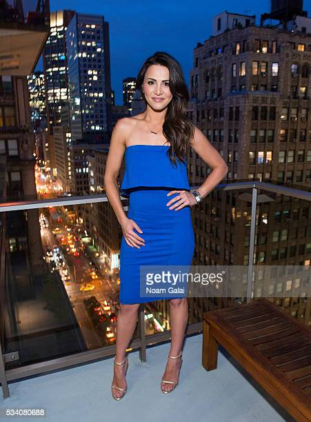Television personality Andi Dorfman attends the It's Not Okay book release party at Gansevoort Park Avenue NYC on May 24 2016 in New York City