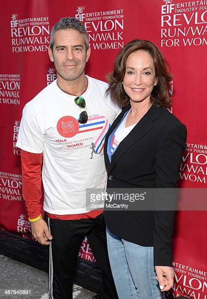 Television personality Andy Cohen and Lilly Tartikoff attend the 17th Annual EIF Revlon Run Walk For Women on May 3 2014 in New York City