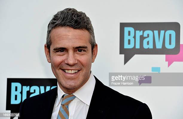 Television Personality Andy Cohen arrives at Bravo Media's 2013 For Your Consideration Emmy Event at Leonard H Goldenson Theatre on May 22 2013 in...
