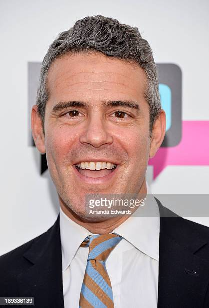 Television personality Andy Cohen arrives at the Bravo Media's 2013 For Your Consideration Emmy Event at the Leonard H Goldenson Theatre on May 22...