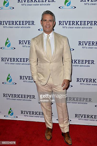 Television Personality Andy Cohen attends Riverkeeper's 50th Anniversary Fishermen's Ball at Pier Sixty at Chelsea Piers on May 18 2016 in New York...