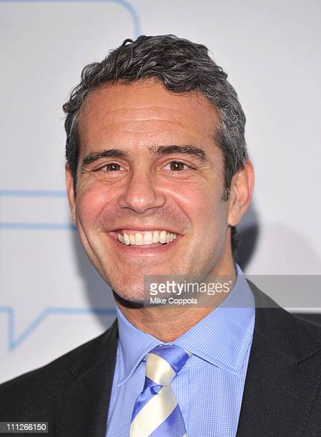 Television personality Andy Cohen attends the 2011 Bravo Upfront at 82 Mercer on March 30 2011 in New York City