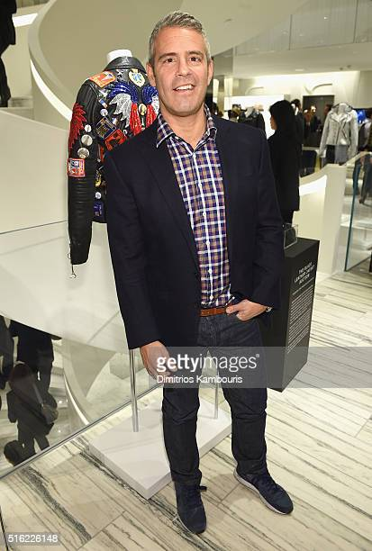 Television personality Andy Cohen attends the Barneys New York celebration of its new downtown flagship in New York City on March 17 2016 in New York...