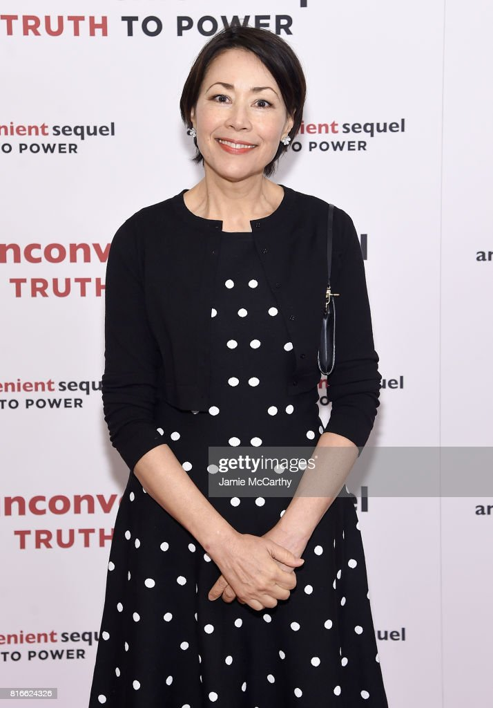 Television personality Ann Curry attends the 'An Inconvenient Sequel: Truth To Power' New York Screening' at the Whitby Hotel on July 17, 2017 in New York City.