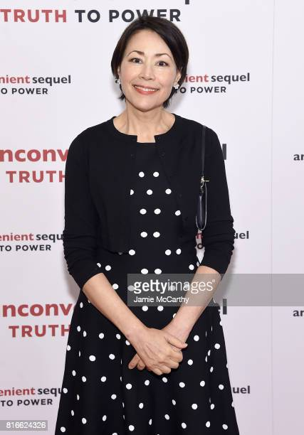 Television personality Ann Curry attends the 'An Inconvenient Sequel Truth To Power' New York Screening' at the Whitby Hotel on July 17 2017 in New...