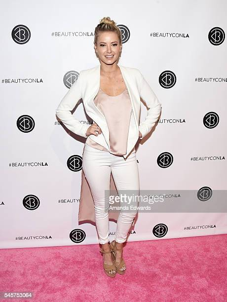Television personality Ariana Madix arrives at the 4th Annual Beautycon Festival Los Angeles at the Los Angeles Convention Center on July 9 2016 in...