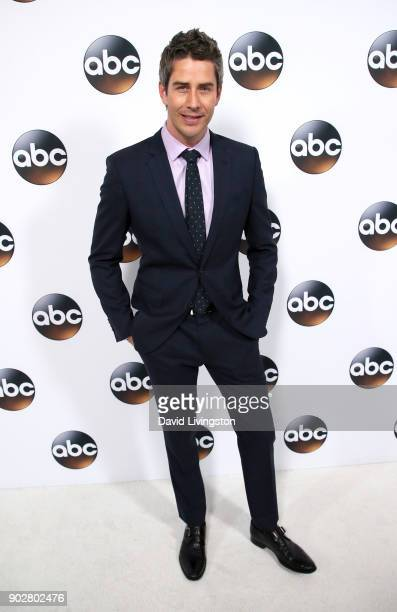 Television personality Arie Luyendyk Jr attends Disney ABC Television Group's TCA Winter Press Tour 2018 at The Langham Huntington Pasadena on...