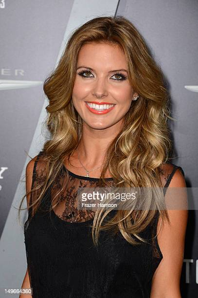 Television personality Audrina Patridge arrives at the premiere of Columbia Pictures' 'Total Recall' held at Grauman's Chinese Theatre on August 1,...