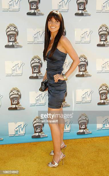 Television personality Audrina Patridge arrives to the 2008 MTV Movie Awards at the Gibson Amphitheatre on June 1 2008 in Universal City California