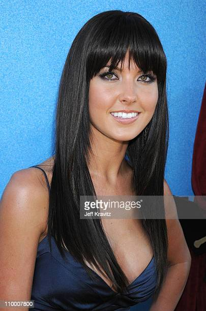 Television personality Audrina Patridge arrives to the 2008 MTV Movie Awards at the Gibson Amphitheatre on June 1, 2008 in Universal City, California.