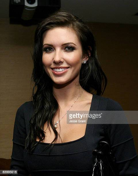 Television personality Audrina Patridge attends Sportie LA's new Special Edition Melrose women's footwear by Fila launch party held at a private...