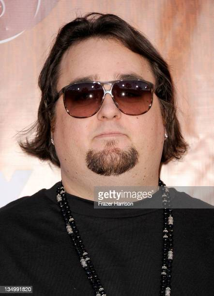 """Television personality Austin """"Chumlee"""" Russell of """"Pawn Stars"""" arrives at the American Country Awards 2011 at the MGM Grand Garden Arena on December..."""