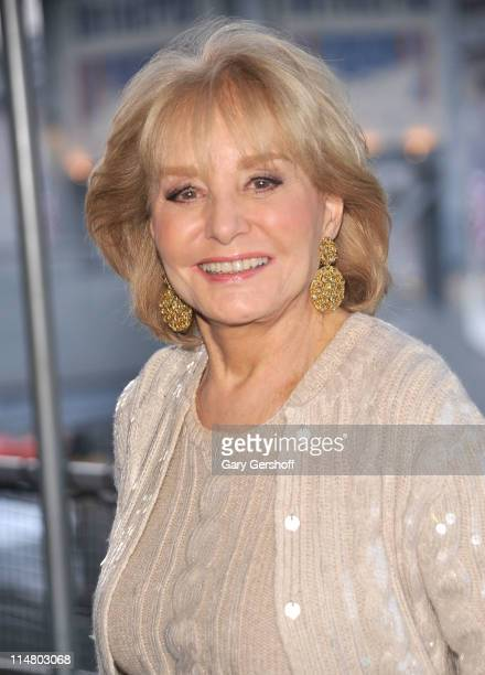 Television personality Barbara Walters attends the 20th annual Salute to Freedom dinner at the Intrepid Sea-Air-Space Museum on May 26, 2011 in New...
