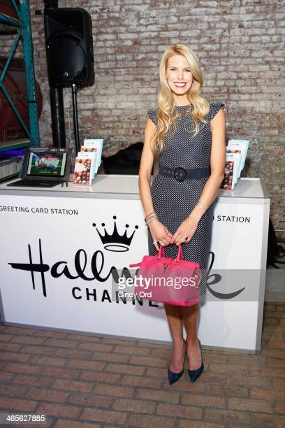 Television personality Beth Stern atttends TWC Studios on January 28 2014 in New York City