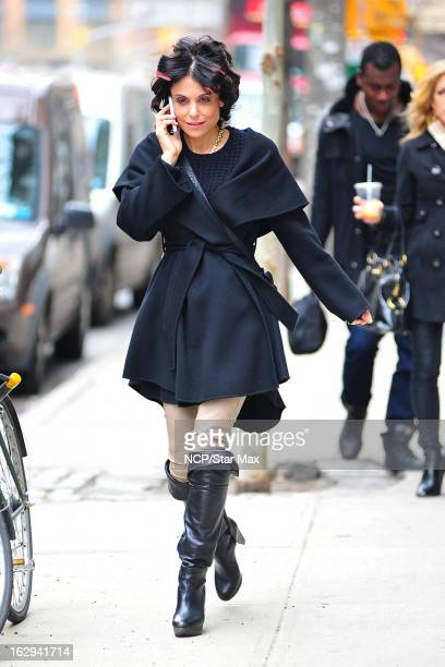 Television Personality Bethenny Frankel as seen on March 1 2013 in New York City