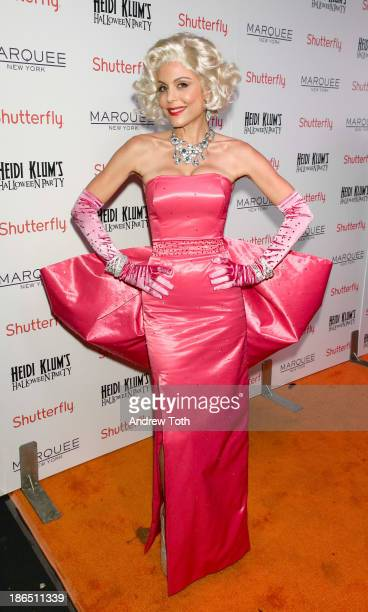 Television personality Bethenny Frankel attends the 2013 Heidi Klum Halloween Party at Marquee on October 31 2013 in New York City