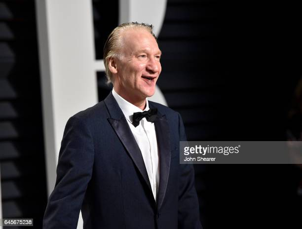 Television personality Bill Maher attends the 2017 Vanity Fair Oscar Party hosted by Graydon Carter at Wallis Annenberg Center for the Performing...