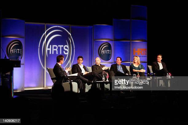 Television Personality Billy Bush And Executives Michael Wright Joel Stillerman David Janollari Kate Juergens Carmi