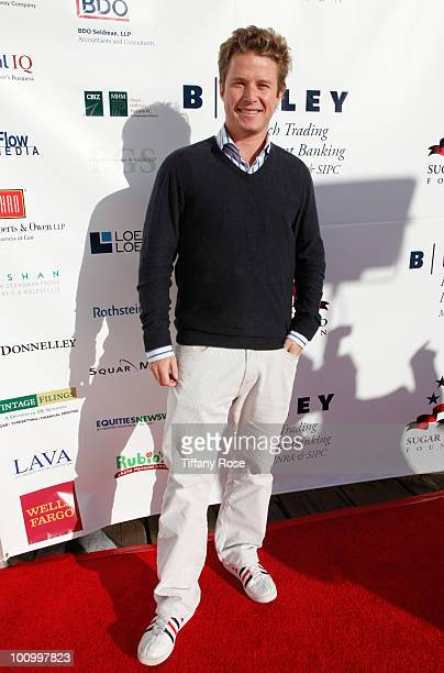 Television personality Billy Bush attends the Sugar Ray Leonard Foundation's Big Fighters Big Cause charity event at the Santa Monica Pier on May 25...