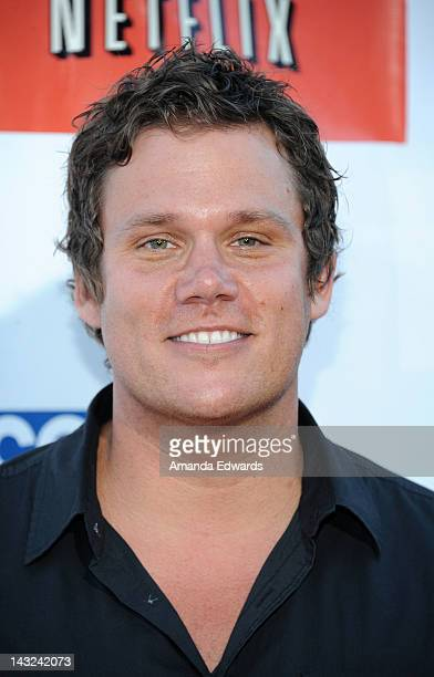 Television personality Bob Guiney arrives at the Band From TV's 2nd Annual Block Party On Wisteria Lane at Universal Studios Backlot on April 21 2012...