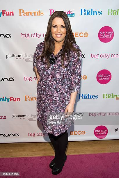 Television Personality Bobbie Thomas attends the 2015 Big City Moms Biggest Baby Shower at the Metropolitan Pavilion on November 12, 2015 in New York...