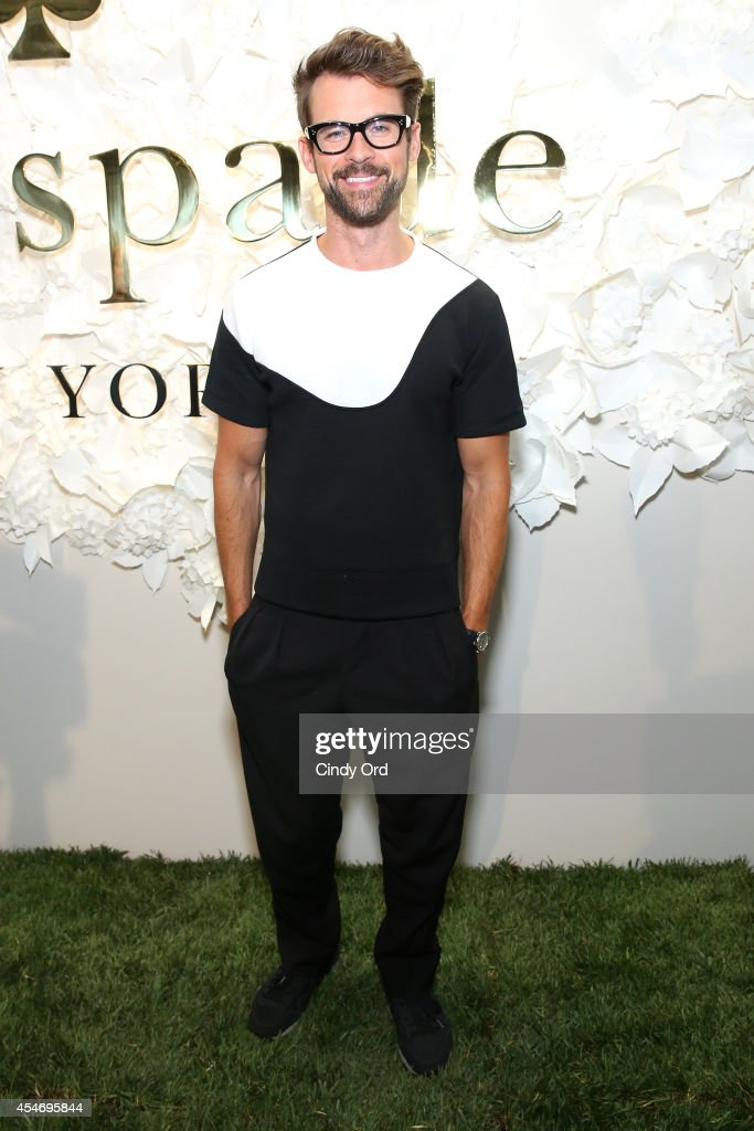 Television personality Brad Goreski at the Kate Spade New York Presentation duringMercedes-Benz Fashion Week Spring 2015 at Center 548 on September 5, 2014 in New York City.