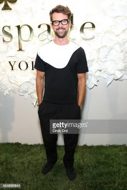 Television personality Brad Goreski at the Kate Spade New York Presentation duringMercedesBenz Fashion Week Spring 2015 at Center 548 on September 5...