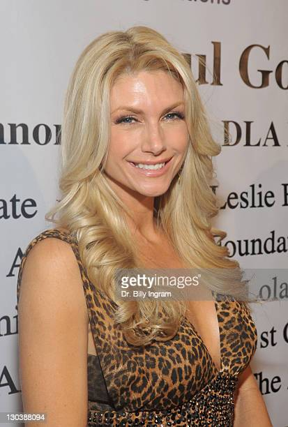 Television personality Brande Roderick arrives at the 10th Annual Children Uniting Nations Academy Awards Gala at The Beverly Hilton Hotel on...