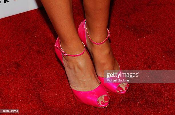 """Television personality Bridget Marquardt arrives at the 2nd Annual """"Give & Get Fete"""" at the SoHo House on August 16, 2010 in West Hollywood,..."""
