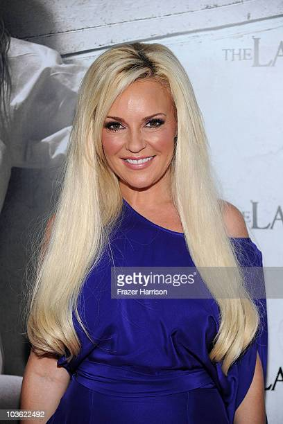 Television personality Bridget Marquardt arrives at the screening of Lionsgate's The Last Exorcismat the Arclight theatres on August 24 2010 in...