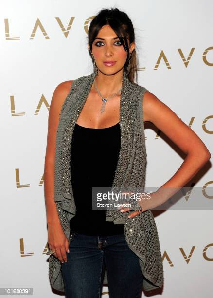 "Television personality Brittny Gastineau arrives to celebrate Macy Gray's new jewelry line ""Tres Glam"" at Lavo on June 6, 2010 in Las Vegas, Nevada."