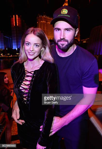 Television personality Brody Jenner and model Kaitlynn Carter attend 'Infamous Wednesdays' at Hyde Bellagio at the Bellagio on December 30 2015 in...