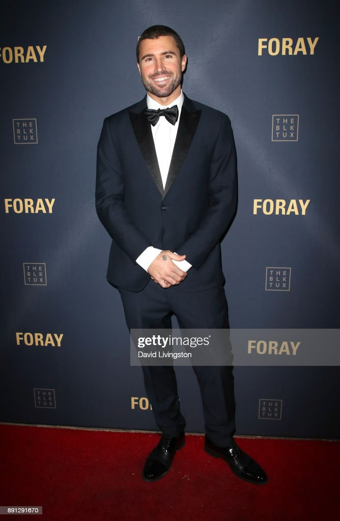 Television personality Brody Jenner attends FORAY Collective and The Black Tux Host Holiday Gala on December 12, 2017 in Los Angeles, California.