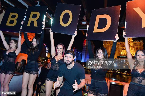 Television personality Brody Jenner hosts 'Infamous Wednesdays' at Hyde Bellagio at the Bellagio on December 30 2015 in Las Vegas Nevada