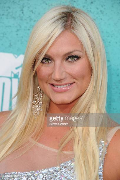 Television personality Brooke Hogan arrives at the 2012 MTV Movie Awards at Gibson Amphitheatre on June 3 2012 in Universal City California