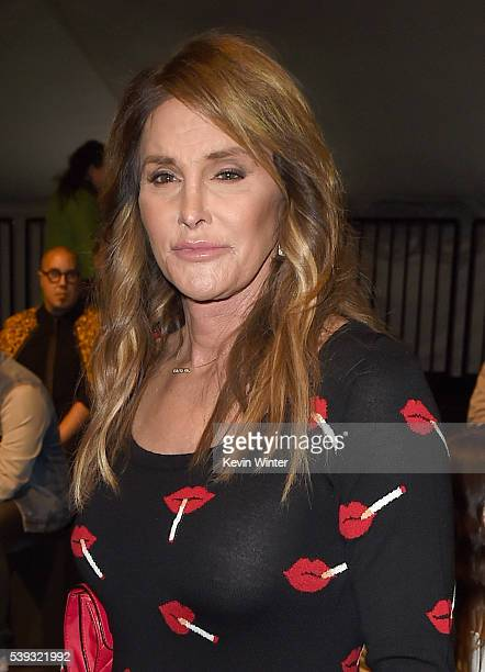 Television personality Caitlyn Jenner attends the Moschino Spring/Summer 17 Menswear and Women's Resort Collection during MADE LA at LA LIVE Event...