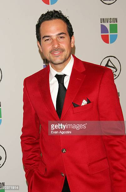 Television personality Carlos Calderon attends the 7th Annual Latin Grammy Awards at Madison Square Garden November 2 2006 in New York City