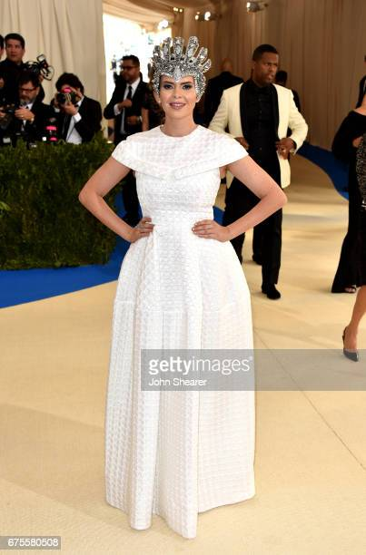Television personality Carly Steel attends 'Rei Kawakubo/Comme des Garcons Art Of The InBetween' Costume Institute Gala at Metropolitan Museum of Art...