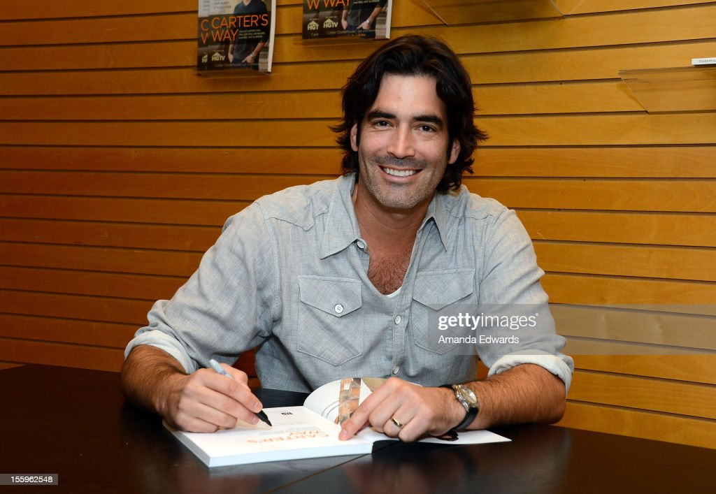 "HGTV's Carter Oosterhouse Signs Copies Of His New Book ""Carter's Way"""